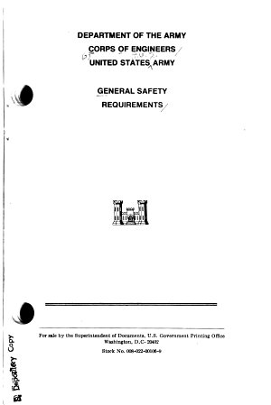 General Safety Requirements PDF