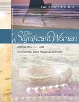 The Significant Woman Facilitator Guide PDF