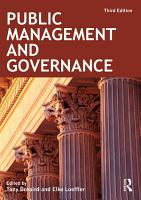 Public Management and Governance PDF