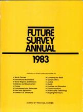 Future Survey Annual 1983 PDF