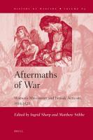 Aftermaths of War PDF