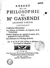 Abrégé de la philosophie de Gassendi