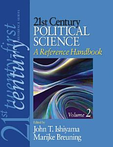 21st Century Political Science  A Reference Handbook Book