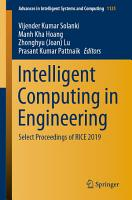 Intelligent Computing in Engineering PDF