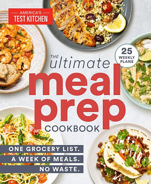Download The Ultimate Meal Prep Cookbook Book