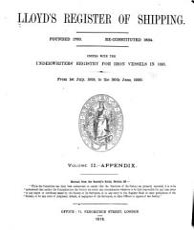 Lloyd s Register of Shipping PDF