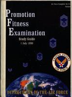 Promotion Fitness Examination PDF