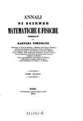 Annali di scienze matematiche e fisiche: Volume 5