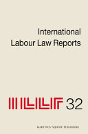 International Labour Law Reports  Volume 32 PDF