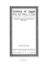 History of Egypt, Chaldea, Syria, Babylonia, and Assyria: Volume 13