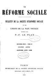 Revue d'ëconomie sociale et rurale: Volume19