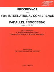 Proceedings of the 1995 International Conference on Parallel Processing PDF