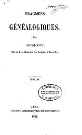 Fragmens généalogiques: Volume2
