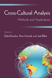 Cross-Cultural Analysis: Methods and Applications