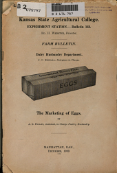 Marketing of eggs