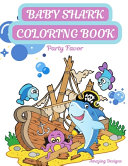 Baby Shark Coloring Book Party Favor