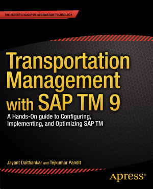 Transportation Management with SAP TM 9 PDF