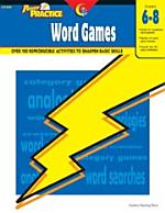 Power Practice: Word Games, Gr. 6-8, eBook