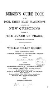 Bergen's Guide book to the local Marine board examinations