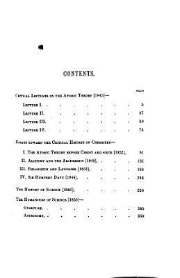 Lectures on the Atomic Theory and Essays Scientific and Literary PDF