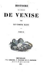 Histoire de la Republique de Venise: Volume9