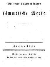 Sämtliche Werke: Gedichte ; Theil 2, Band 2