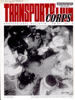 Transportation Corps Professional Bulletin PDF