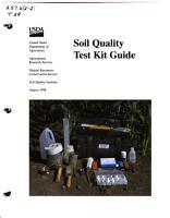 Soil Quality Test Kit Guide PDF