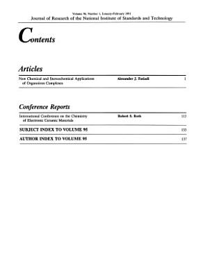 Journal of Research of the National Institute of Standards and Technology PDF