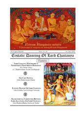 NBS#40: Ecstatic Dancing of Lord Chaitanya