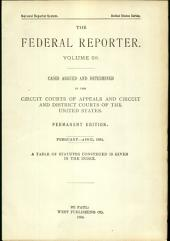 The Federal Reporter: Volume 59
