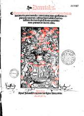 Decretum Gratiani, seu verius decretorum canonicorum collectanea...: co[m]mentarijs Hugonis [i. e. Uguccione de Pisa] ac Ioa[n]nis Teuthonici...illustrata scholijs ...