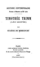 Timothée Trimm (Léo Lespès)
