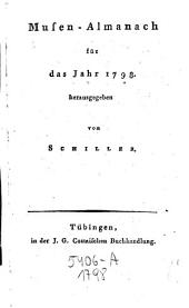 Musenalmanach. Hrsg. von Schiller. (mit Kupferstichen.)