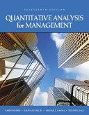 Quantitative Analysis for Management PDF