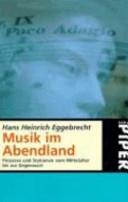 Musik im Abendland PDF