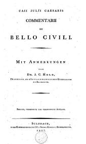 Caii Julii Caesaris Commentarii de bello civili