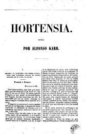 Hortensia: novela