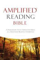 Amplified Reading Bible  eBook PDF