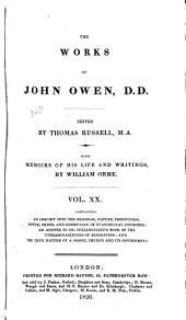The Works of John Owen: Volume 20