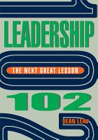 Leadership 102 PDF