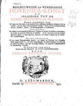 Beschouwende en werkdadige Hovenier-Konst of inleiding tot de waare oeffening der planten