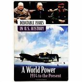 Debatable Issues in U.S. History: Volume 5