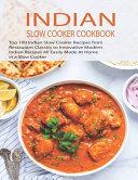 Indian Slow Cooker Cookbook Book PDF