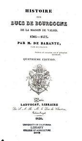 Histoire des ducs de Bourgogne de la maison de Valois, 1364-1477: Volume9