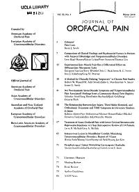 Journal of Orofacial Pain PDF