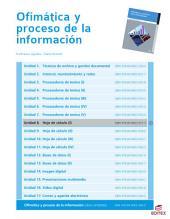 Hoja de cálculo (I) (Ofimática y proceso de la información)