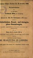 Veilingcatalogus  boeken Ferdinand Ihling  Joh  Pet  Eckermann  15 oktober 1855 PDF