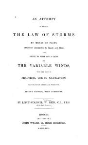 An Attempt to Develop the Law of Storms PDF