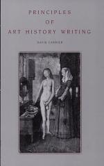 Principles of Art History Writing